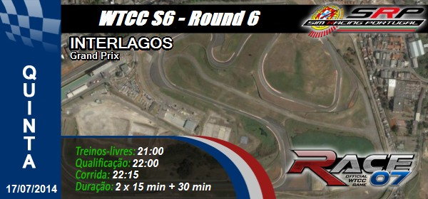 WTCC S& - Round 6 - Interlagos