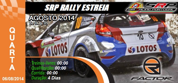 SRP Rally estreia