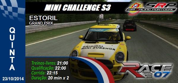 Mini CHallenge S3 - Round 2 - Estoril