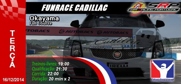 Funrace Cadillac @ Okayama
