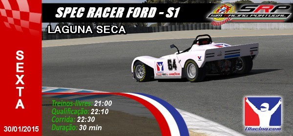 Spec Racer Ford S1 - Round 1