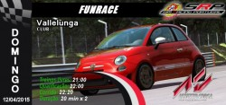 Funrace Abarth 500@ Vallelunga Club