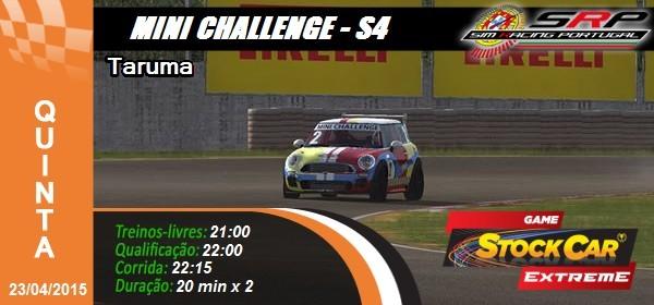 Mini Challenge S4 - Round 3