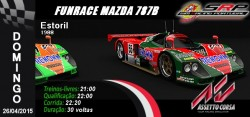 Funrace Mazda 787B @ Estoril