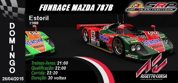 Funrace Mazda 787B @ Estoril