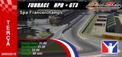 Funrace HPD + GT3 @ Spa
