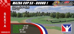 mazda cup s3 - round 1