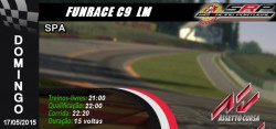 funrace c9 lm @ spa