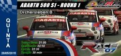 Abarth 500 S1 - Round1