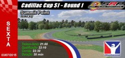 Cadillac Cup S1 - Round 1