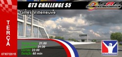 gt3 challenge s5 - round 4 - gille villeneuve