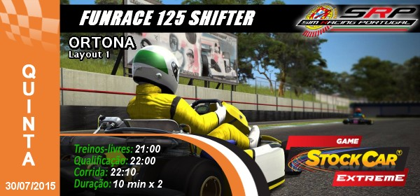 Funrace 125 shifter