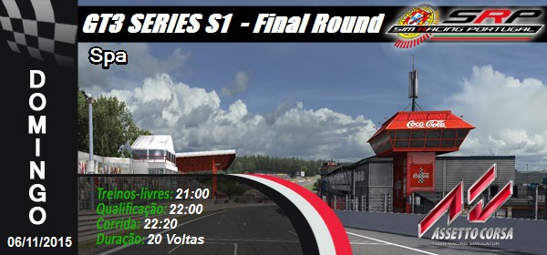 GT3 Series S1 - Round 8