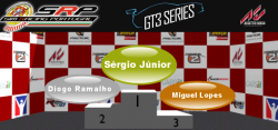 GT3 Series S1 podio final