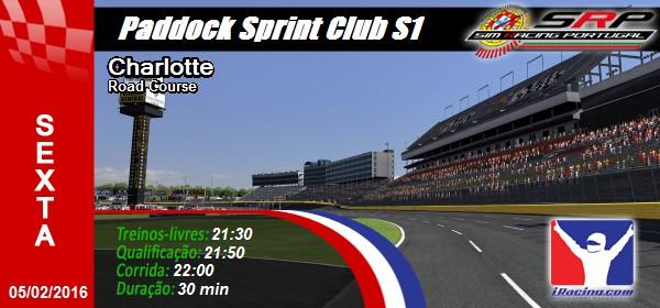 Paddock Sprint Club S1