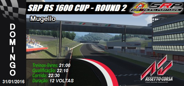 RS 1600 Cup S1 - Round 2