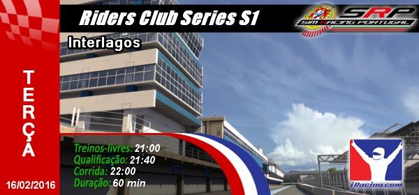 Riders Club Series S1 - Round 3