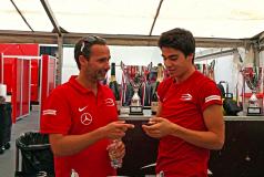 Nuno Pinto e Lance Stroll