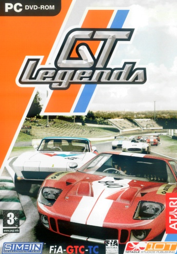GT Legends cover